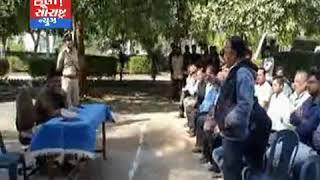 માધવપુર-પોલીસ વડા દ્વારા લોક દરબાર યોજાયો