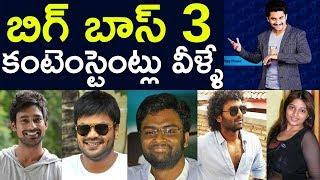 Bigg Boss 3 Contestants List | Bigg Boss 3 Telugu | Top Telugu TV video -  id 37189d9f7931c8 - Veblr Mobile