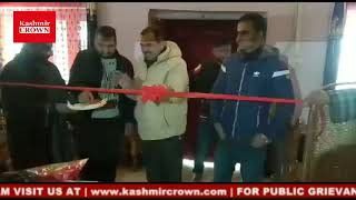Kashmir Handicrafts exhibition cum sale inaugurated at Kunzer in Tangmarg