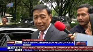 Wiranto Minta Polisi Segera Ungkap Pelaku Teror Pimpinan KPK