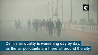 Air Quality Index still remains poor at Delhi's Lodhi Road