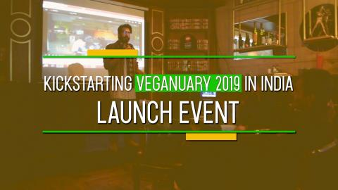 Veganuary India 2019 Launched in India | RFE