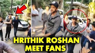 Hrithik Roshan MEETS His FANS On His 45th Birthday 2019