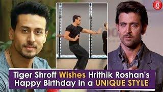 Tiger Shroff Wishes Hrithik Roshans Happy Birthday in a Unique Style
