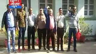 જામનગર-આવક વેરાના કર્મચારીઓ દ્વારા વિરોધ કરાયો
