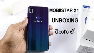 Mobiistar X1 Notch Unboxing and First Impression telugu