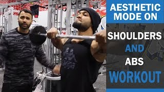 Killer Shoulders and ABS workout! DAY 7 (Hindi / Punjabi)