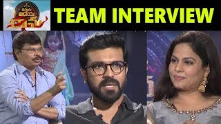 Vinaya Vidheya Rama Team Interview | VVR Team Interview | Ram Charan | Boyapati Srinu |Top Telugu TV