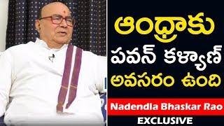 పవన్ కళ్యాణ్కు వెన్నుపోటా! | Nadendla Bhaskara Rao Exclusive Interview | NTR Biopic | Top Telugu TV