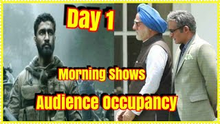 #URI Vs The Accidental Prime Minister Movie Audience Occupancy Day 1 Morning Shows