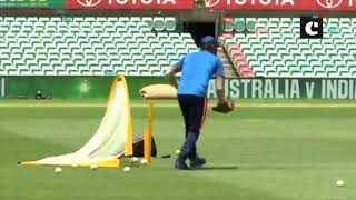Indian Cricket Team sweats it out ahead of first ODI against Australia tomorrow
