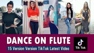 DANCE ON FLUTE: 15 Version Version TikTok Latest Video | SatyaBhanja