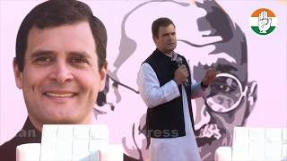Congress President Rahul Gandhi interacts with students from IMT Dubai University