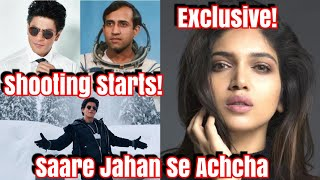 #ShahRukhKhan Starts Shooting For Saare Jahan Se Achcha Reports Big Update 2