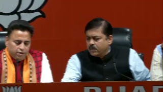 Press Conference by Shri GVL Narasimha Rao at BJP Central Office, New Delhi