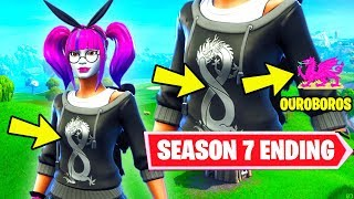LACE AND PARADOX SKINS HOLD THE SECRET TO THE SEASON 7 ENDING IN FORTNITE BATTLE ROYALE