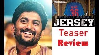 Jersey Official Teaser   Jersey Teaser Review   Nani Jersey Movie   Top Telugu TV