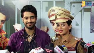 Shruti Sharma (Dhanak) & Abrar Qazi (Raghu) Full Interview - Gath Bandhan Serial Launch - Colors