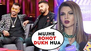 Rakhi Sawant Reaction On Hardik Pandya And KL Rahul's COMMENT | Koffee With Karan COntroversy