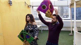 Emraan Hashmi & Shreya Dhanwanthary Celebrate Makar Sankranti By Flying Kites
