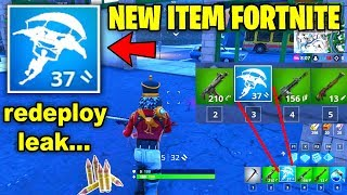 NEW Fortnite Update! v7.20 Coming with GLIDER RE-DEPLOY, LEAKS & NEW WEAPONS (PATCH V7.20)