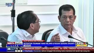 Alat Deteksi Tsunami Dijaga TNI, Ini Alasan BNPB