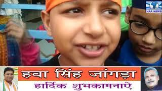 बरवाला में गुरु गोबिंद सिंह जी के ,प्रकाश पर्व के अवसर पर अटूट लंगर चलाया गया