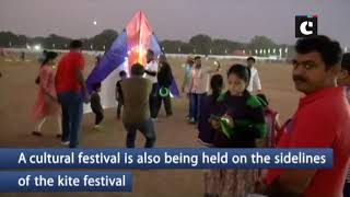 Visitors throng International Kite & Sweets Festival in Hyderabad