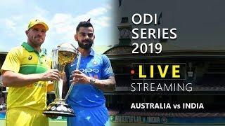 India Vs Australia 1st ODI (2019) | Match Prediction Today | Cricket Live Streaming