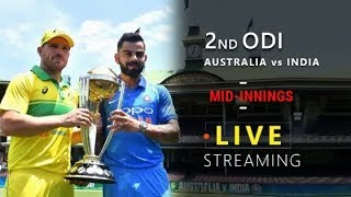 India vs australia 2nd ODI (2019) | Analysis - Mid Innings | Live Streaming