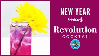 New Year Cocktail  | Colour Changing Cocktail | Dada Bartender | Butterfly Pea Cocktail Recipe