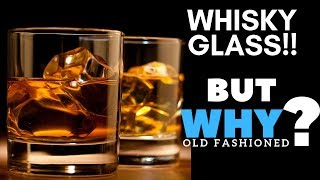 Why Whisky always Served in Old Fashioned Glass? | Why Rock Glass for Whisky ? | Dada bartender