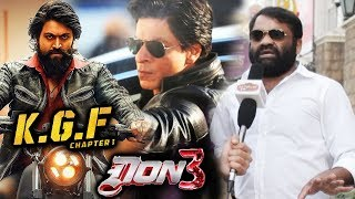 Shahrukh's DON 3 Vs Yashs KGF | South Film Director S.K. Basheed Reaction