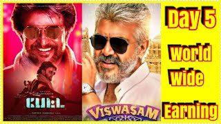#PETTA Vs Viswasam Worldwide Box Office Collection Day 5
