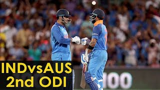 India vs Australia: Virat Kohli, MS Dhoni power India to series-levelling win