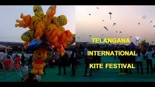 International Kite Festival At Hyderabad Parade Grounds | Sankranthi Kite Festival 2019