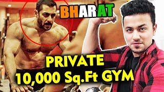 Salman Khan Gets A 10000 Square Feet Gym Made On The Sets Of BHARAT