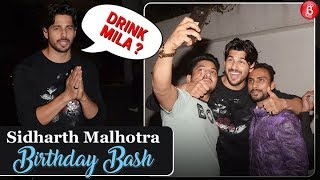 Sidharth Malhotra Invites Media Reporters For DRINKS at his Birthday Bash