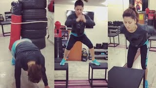Urvashi Rautela GYM WORKOUT Will Motivate You | Watch Video