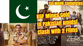 #KGF Mines Gold In Pakistan Too Amidst Clash With ZERO And Simmba In 1st Week