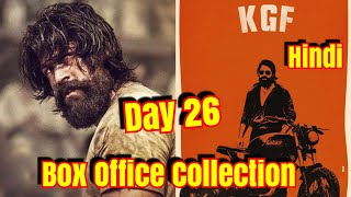 #KGF Movie Box Office Collection Till Day 26 In Hindi Version video - id  371b95967f32c1 - Veblr Mobile