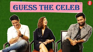 URI cast Vicky Kaushal Yami Gautam &  Mohit Raina indulge in a game of 'Guess The Celeb'
