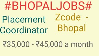 #JOBSNEAR#ME   |Jobs in Bhopal For Freshers and Graduates | No experience | At home| Bhopal jobs|