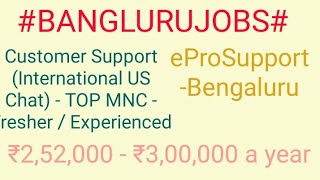 Bengluru Jobs#JOBS#NEARME   |Jobs in Bengluru  For Freshers and Graduates | No experience |