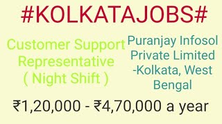 #KOLKATA #JOBSJOBS NEAR ME   |Jobs in  KOLKATA  For Freshers and Graduates | No experience |.