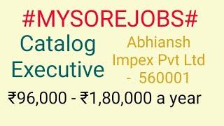 #MYSORE#JOBSnearme|Jobs in MYSORE  For Freshers and Graduates | No experience |