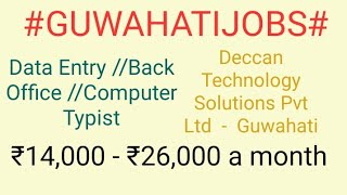 #GUWAHATI#JOBSnearme|Jobs in GUWAHATI For Freshers and Graduates | No experience |