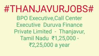 #JOBS#near#me|Jobs in THANJAVUR For Freshers and Graduates | No experience | Part Time | At Home |