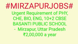 #JOBS#near#me|Jobs in MIRZAPUR For Freshers and Graduates | No experience | Part Time | At Home |