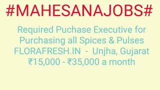 #JOBS#near#me|Jobs in MAHESANA For Freshers and Graduates | No experience | Part Time | At Home |
